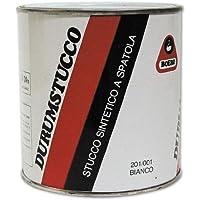 Stucco a solvente per ferro e legno Durumstucco Boero colore Bianco Lt.0,500