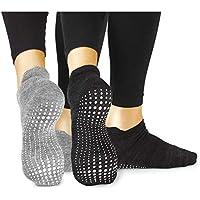 LA Active Calze Presa Antiscivolo Cotone – Per Yoga Pilates Danza Ballet Sbarra