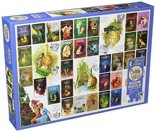Cobblehill 85045 - Puzzle (500 Piezas), diseño de Nancy Drew