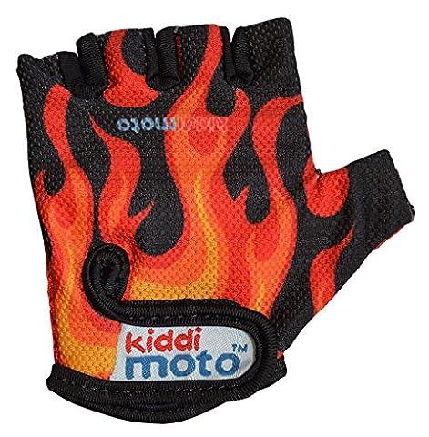 kiddimoto GLV021M - Sport und Fahrrad Handschuhe für Kinder Design,