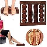 Massaggiatore plantare in legno con 4 bastoncini per alleviare il dolore e lo stress, attrezzi per digitopressione, massaggiatore plantare, massaggiatore per digitopressione, massaggiatore plantare