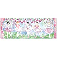 Melissa & Doug Bella Ballerina Jumbo Jigsaw Floor Puzzle (48 pcs, nearly 1.2 meters long)