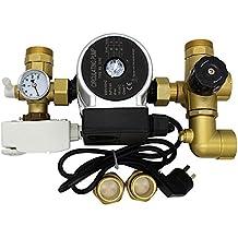 Grupo termostatico Agua calefacción por suelo radiante colector Bomba de la válvula mezcladora Unidad para distribuidor