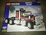 Lego Model Team 5571 Black Cat Truck