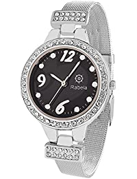 Rabela Women's Analogue Black Dial Watch RAB-819