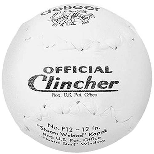 worth-debeer-official-f12-clincher-12-softball-1-dozen-by-debeer