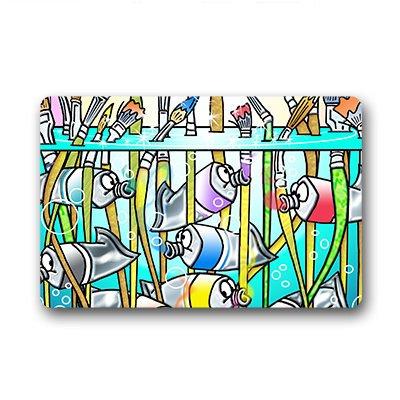 """Personal Custom grafica Zerbino Personalizzato Doormat 18""""x30"""" about 46cmx76cm"""