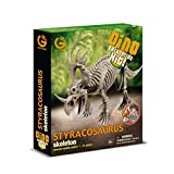 GEOWORLD-DINO EXCAVATION KIT - STYRACOSAURUS SKELETON