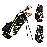 Bolsa de soporte de golf, cubierta de viaje de bolsa de carrito de golf -14 émbolos - Base de dureza alta + Soporte - Ultraligero -Correa para el hombro con alta esponja elástica, bolsa de golf,B