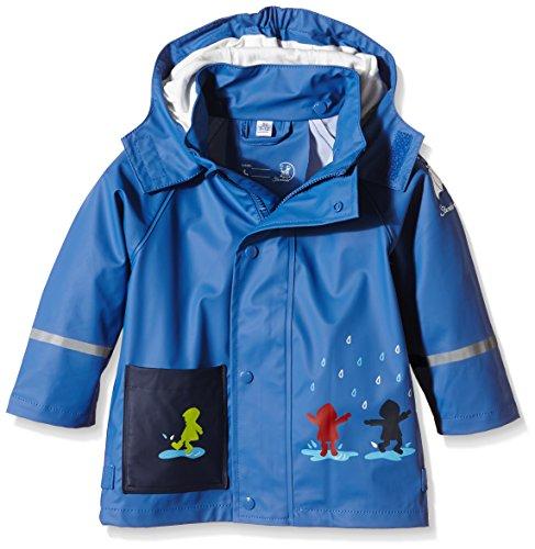 Sterntaler Baby - Jungen Regenmantel 5651500, Gr. 86, Blau (kobaltblau 353)