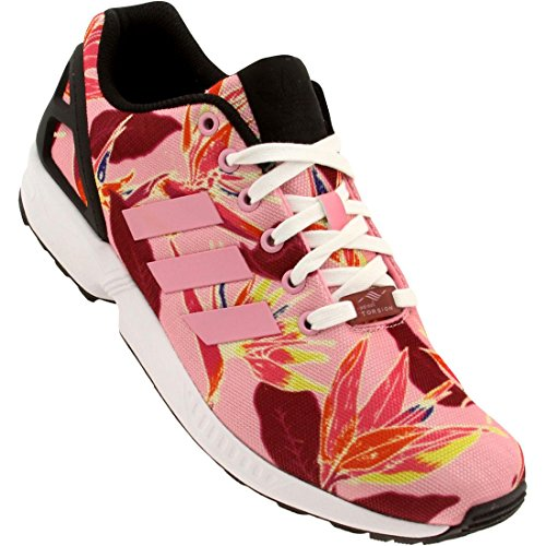 Adidas Youths ZX Flux Mesh Trainers Multi