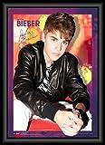 1art1 Justin Bieber - Believe, Autografo, Poster 3D Incorniciato Poster 3D (incorniciati) (70 x 50cm)