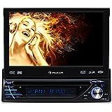 Auna MVD-260 - Autoradio avec lecteur DVD, Bluetooth, lecteur USB SD MP3, entrée AUX et micro pour kit mains-libres