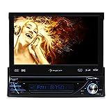 Auna MVD-260 autoradio Multimedia (avec Bluetooth, ecran Retractable 18cm, Lecteur...