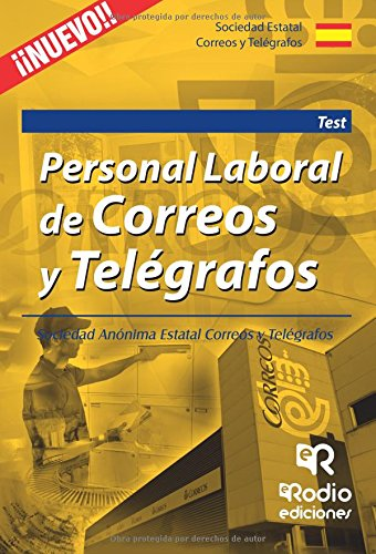 Personal Laboral de Correos y Telégrafos. Test (OPOSICIONES) por Varios Autores