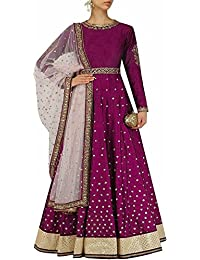 Mrs Women's Girl's Festival Mega Sale Offer Pure Cotton Heavy Embroidered Semi-Stitched Lehenga Choli With Dupatta