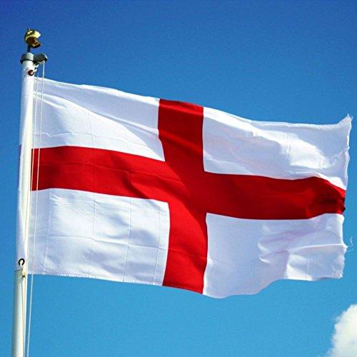 Nana 's Party St George Kreuz England Flagge Rugby Olympischen Spiel Dekoration mit Öse 5x 3ft (Braut-Öse)