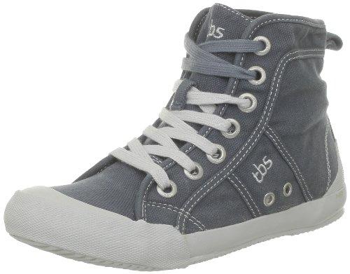 TBS ,  Sneaker donna, Grigio (Gris (Toile Delavee Bitume)), 37