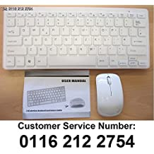 Mini teclado inalámbrico y ratón para SMART TV LG 42LM620T LG42LM620T