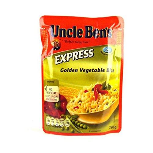 uncle-bens-express-rice-golden-veg-250gm-pack-of-6