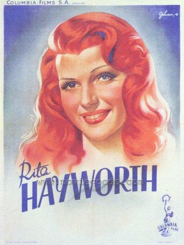 Rita Hayworth Plakat Movie Poster (27 x 40 Inches - 69cm x 102cm) (1942)