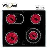 Whirlpool AKT 157 IX Kochfeld/Ceran, elektrisch
