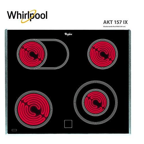 Whirlpool Kochfeld (Whirlpool AKT 157 IX Kochfeld/Ceran, elektrisch)