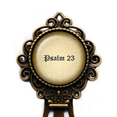 Psalm 23 The Lord's Prayer King James Version Bible Lesezeichen