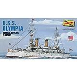 Unbekannt Lindberg HL402/06 - 1/240 USS Olympia Modellbausatz