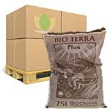 Bancale Canna Bio Terra Plus 25L (100 Sacchi)