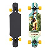 Jan Banan® Longboard Cruiser Komplettboard Drop Through Flex 2