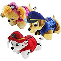 Paw Patrol' Mini Pillow Pet Set de 3 - Skye, Marshall y Chase.