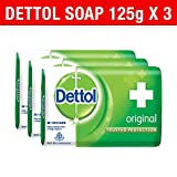 #7: Dettol Soap Value Pack, Original - (3 Pieces X 125 g)