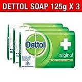 #10: Dettol Soap Value Pack, Original - (3 Pieces X 125 g)