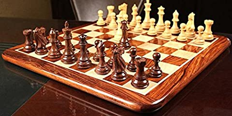 Desert Gold Chess Men Set in Sheesham & Box Wood