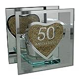 Portavelas de 50aniversario de boda regalo