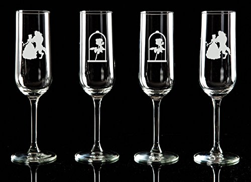 beauty-and-the-beast-etched-flute-wine-glasses-champagne-glasses-set-of-1-2-3-or-4-matching-shot-gla