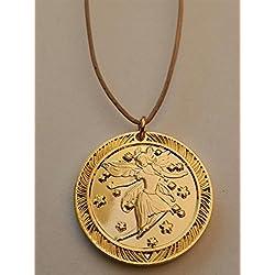 "Medalla ""Magia"" del Ratoncito Pérez - Bronce dorado"
