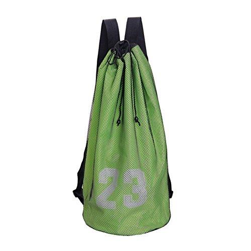EZIZB Sack Sport Reisetasche Basketball Tasche Trainingspaket Pocket Fitness Rucksack Für Jugendliche Erwachsene