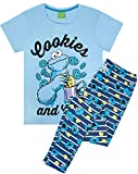 Sesame Street Cookie Monster Womens Pyjamas (Small)