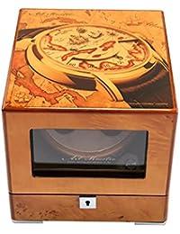 jianbo Watch Winder Winders Reloj AutomáTico Expositor Rotador Para Relojes De RotacióN Del Motor Silencioso Caja Relojes Modos Hecho A Mano Mabuchi Motors WB6943 , #12