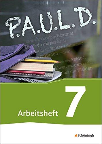 Produktbild P.A.U.L. D. - Persönliches Arbeits- und Lesebuch Deutsch - Für Gymnasien und Gesamtschulen: Arbeitsheft 7