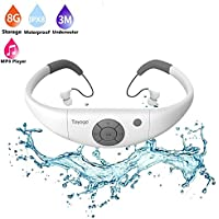 Waterproof mp3 Player swimming, Tayogo waterproof 8GB for Swimming Headset,sports headset, under Water Music Player