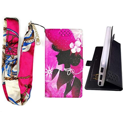 Lovewlb Hülle für Hisense Hs-U602 Hülle Flip PU-Leder + Silikon Cover Case Fest SN