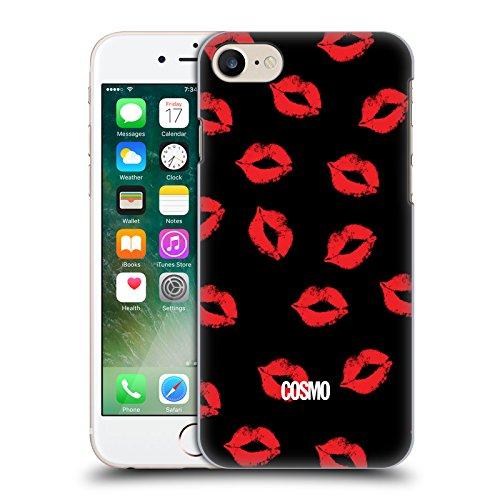 Official Cosmopolitan XO Kiss Mark Hard Back Case for Apple iPhone X Black