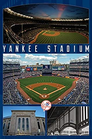 New York Yankees; - Stadium 16 Poster Print (55.88 x
