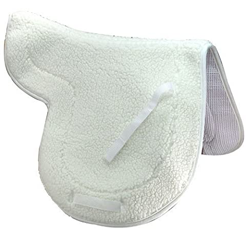Intrepid International English Fleece Non Slip Close Contact Saddle Pad by Intrepid International