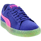 Puma Femmes Chaussures De Sport A La Mode Couleur Bleu Blue/Pink/Green Multi Tai