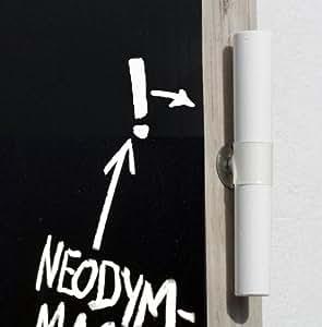 3 x Kreide / Tafelkreide mit Magnet + Halter, super für Tafelfolie-Board/Pinnwand