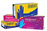 Surgicare Syntho Premium (Medium) Nitrile Powder-Free Examination Gloves (Box of 100 Pcs)